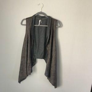 Miilla faux leather vest